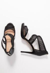 Lulipa London - DESTINY - Sandály na vysokém podpatku - black - 3