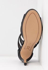 Lulipa London - DESTINY - Sandalias de tacón - black - 6