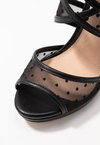 Lulipa London - DESTINY - Sandály na vysokém podpatku - black - 2