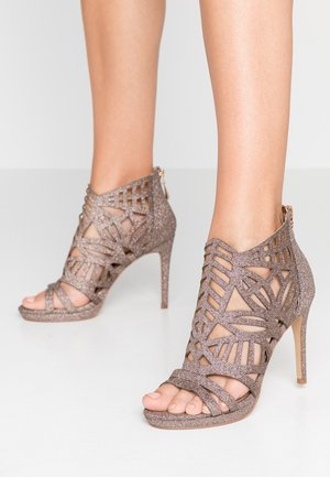 DEMI - High heeled sandals - glitter