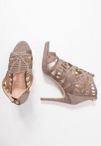 Lulipa London - DEMI - Sandály na vysokém podpatku - glitter - 3
