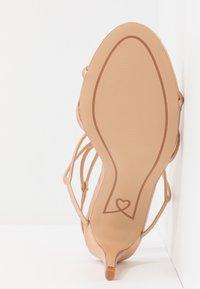 Lulipa London - DELTA - Sandály na vysokém podpatku - rose gold - 6