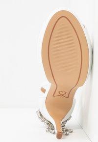 Lulipa London - LACEY - Sandaler med høye hæler - white - 6