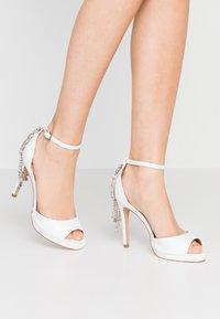 Lulipa London - LACEY - Sandaler med høye hæler - white - 0