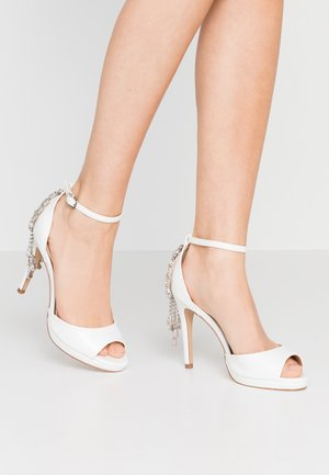 LACEY - High heeled sandals - white