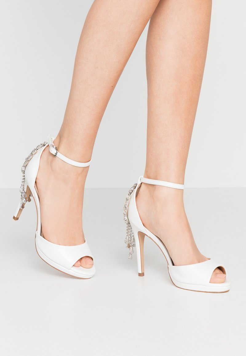 Lulipa London - LACEY - Sandaler med høye hæler - white