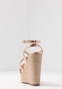 Lulipa London - High heeled sandals - rose gold - 5