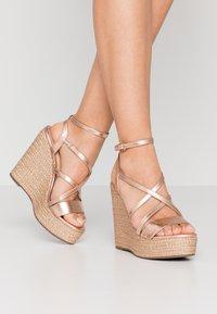 Lulipa London - High heeled sandals - rose gold - 0
