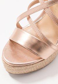 Lulipa London - High heeled sandals - rose gold - 2