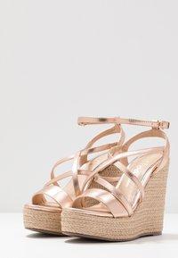 Lulipa London - High heeled sandals - rose gold - 4