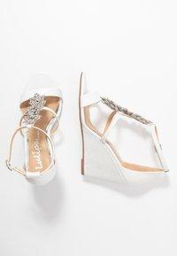 Lulipa London - LISETTE - High heeled sandals - white - 3