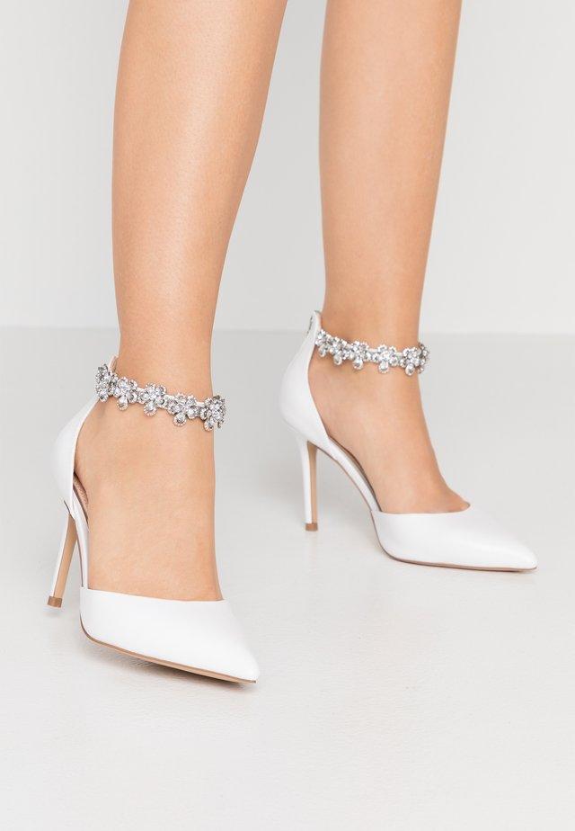 DELILAH - High Heel Pumps - white