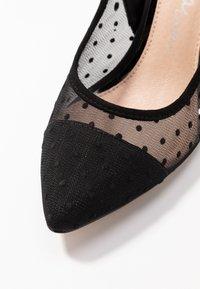 Lulipa London - DARLING - Zapatos altos - black - 2