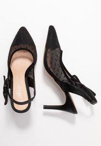 Lulipa London - DARLING - Zapatos altos - black - 3