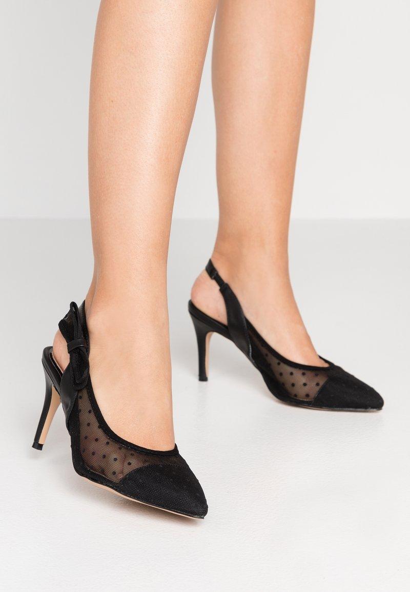 Lulipa London - DARLING - Zapatos altos - black