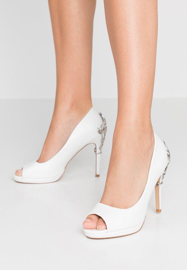DAPHNE - Peeptoes - white