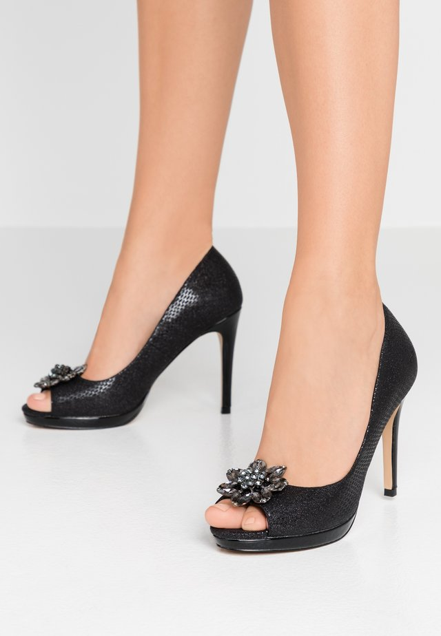 DULCE - High Heel Peeptoe - black