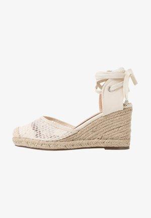 LORENA - Sandalen met hoge hak - cream