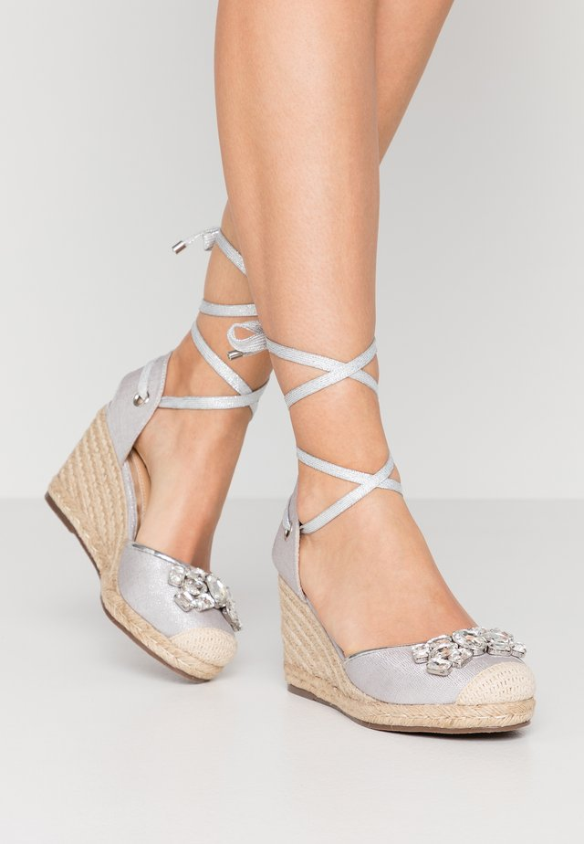 LYRA - High heeled sandals - silver