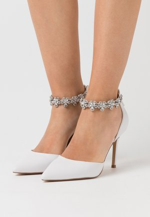JINGLE - Zapatos altos - white