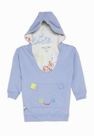PIXEL PARADISE HUGEEE BABY - Hoodie - blue mauve