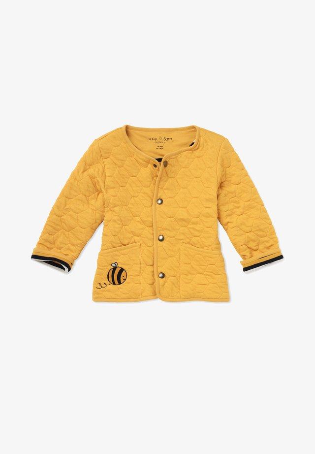 JACKET HONEY COMB QUILTED JACKET - Light jacket - mustard