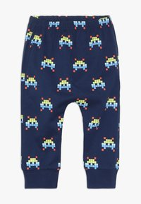 Lucy & Sam - SPACE INVADER HAREM PANT BABY - Pantalon classique - navy - 0