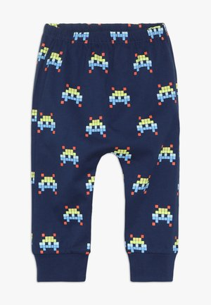 SPACE INVADER HAREM PANT BABY - Trousers - navy