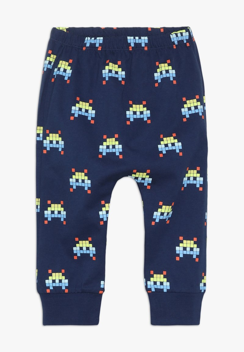 Lucy & Sam - SPACE INVADER HAREM PANT BABY - Pantalon classique - navy