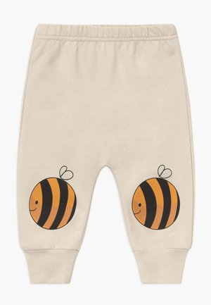 JOGGER BEES BABY - Trousers - cream