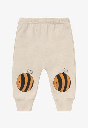 JOGGER BEES BABY - Kalhoty - cream