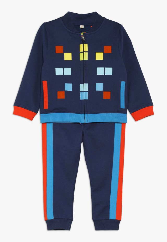 SPACE INVADER PIXEL TRACKSUIT BABY - Sweatjacke - navy