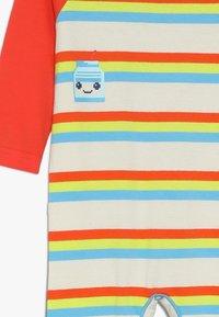 Lucy & Sam - STRIPE PLAYSUIT MILK BOTTLE GRAPHIC BABY - Jumpsuit - multicolor - 3
