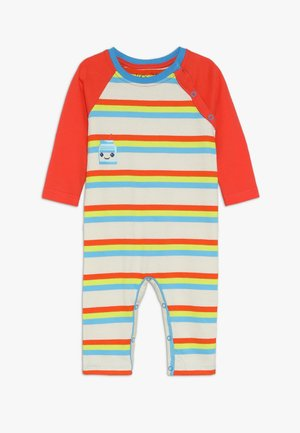 STRIPE PLAYSUIT MILK BOTTLE GRAPHIC BABY - Overal - multicolor
