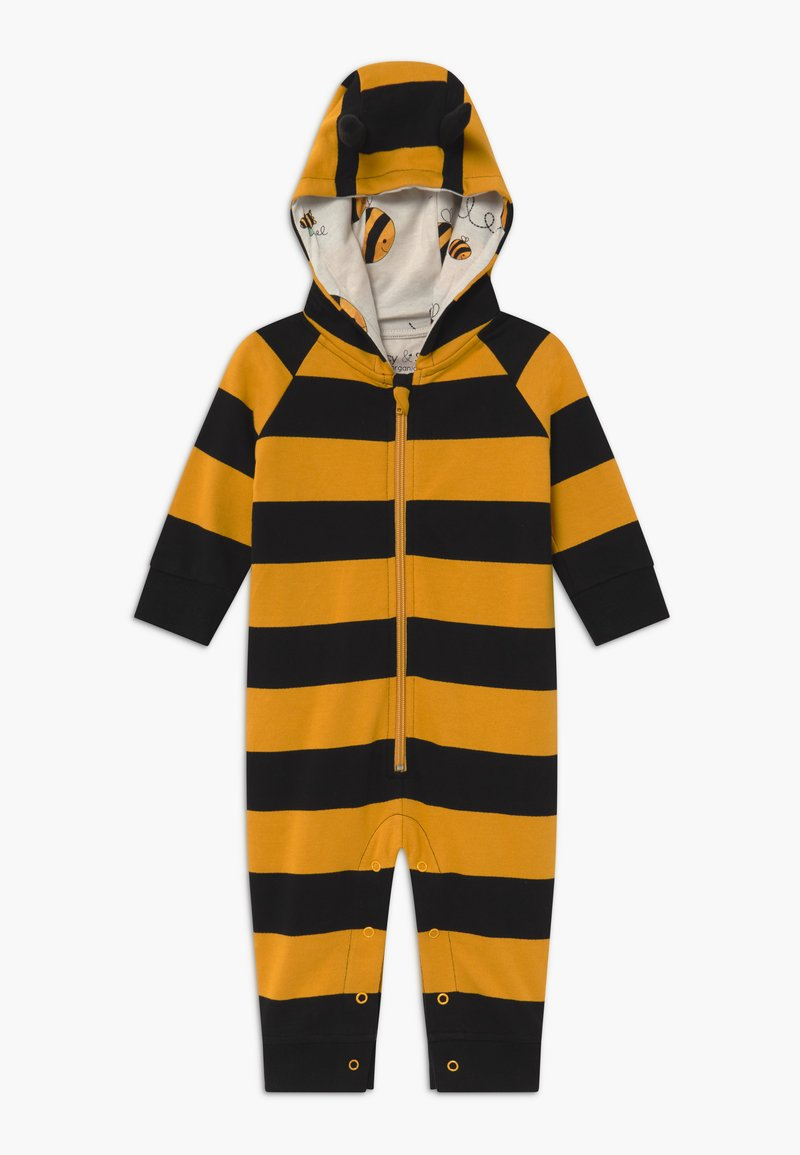 Lucy & Sam - BEE HOODED STRIPE BABY - Jumpsuit - multi-coloured