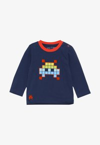 Lucy & Sam - SPACE INVADER GRAPHIC LONG SLEEVE TEE BABY - Long sleeved top - navy - 3