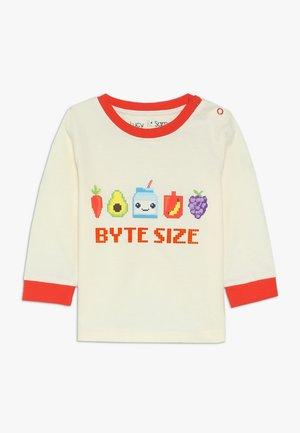 BYTE SIZE GRAPHIC LONG SLEEVE TEE BABY - Maglietta a manica lunga - birch