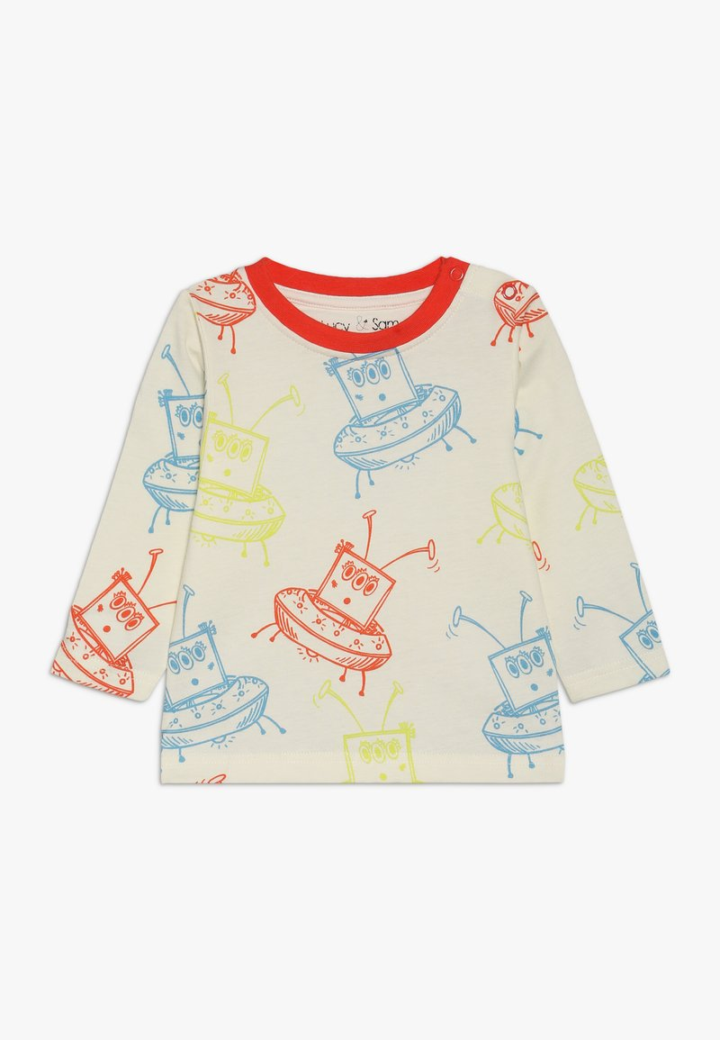 Lucy & Sam - ALIEN ALL OVER PRINT TEE BABY - Långärmad tröja - birch