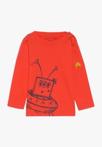 Lucy & Sam - ALIEN TEE BABY 2 PACK - Langarmshirt - lime/orange - 1