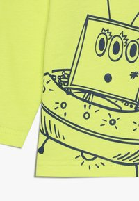 Lucy & Sam - ALIEN TEE BABY 2 PACK - Langarmshirt - lime/orange - 4