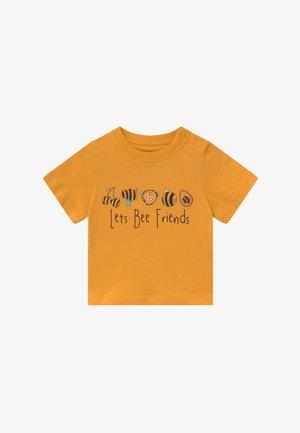 TEE LET'S BEE FRIENDS BABY - Triko spotiskem - mustard