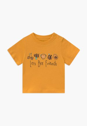 TEE LET'S BEE FRIENDS BABY - Printtipaita - mustard