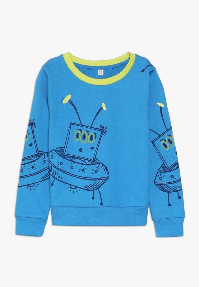 ALIEN BABY - Sweatshirt - dark turquoise
