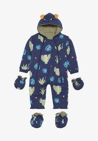 Lucy & Sam - SPOT THE LEOPARD JUNGLE BABY - Jumpsuit - dark blue - 4