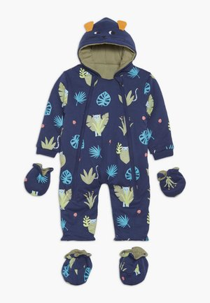 SPOT THE LEOPARD JUNGLE BABY - Overal - dark blue