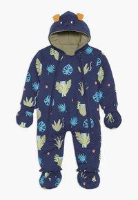Lucy & Sam - SPOT THE LEOPARD JUNGLE BABY - Jumpsuit - dark blue - 2
