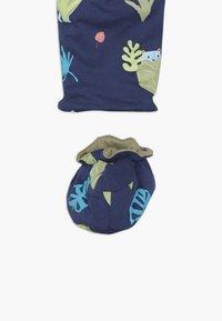 Lucy & Sam - SPOT THE LEOPARD JUNGLE BABY - Jumpsuit - dark blue - 3