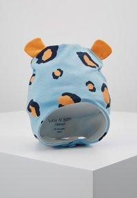 Lucy & Sam - LEOPARD TRAPPER HAT - Mütze - light blue - 0