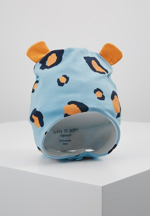 LEOPARD TRAPPER HAT - Čepice - light blue