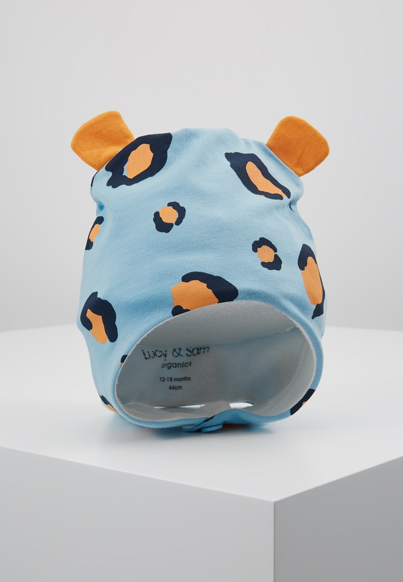 Lucy & Sam - LEOPARD TRAPPER HAT - Mütze - light blue